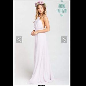 Show Me Your MuMu Dresses - Amanda Maxi Dress 🌸 in Lavender Chiffon